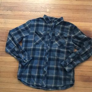 Men's large flannel button up